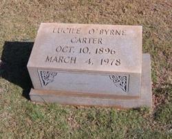 Lucile <I>O'Byrne</I> Carter