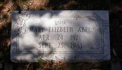Mary Elizabeth Abel