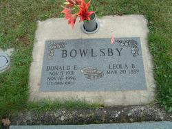 Donald Emmitt Bowlsby