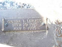 Oneda Louise <I>Lummus</I> Fritz