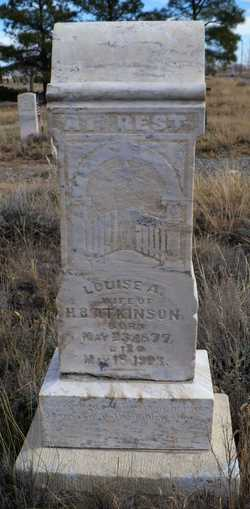 Augusta Louise May <I>Sultemeier</I> Atkinson