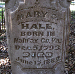Mary Clay <I>Thaxton</I> Hale
