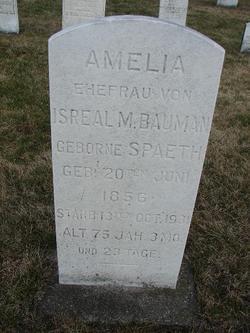 """Amelia """"Molly"""" <I>Spaeth</I> Bauman"""