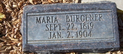 Maria <I>Muehlimatter</I> Burgener