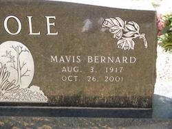 Mavis <I>Bernard</I> Poole
