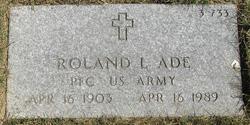 Roland L Ade