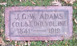 Pvt James G. W. Adams