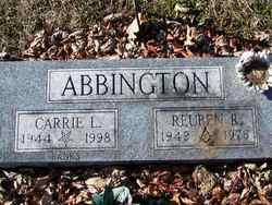 Carrie L. <I>Johnson</I> Abbington Banks