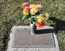 """W. Carl """"Big O"""" Wiggins, Sr"""