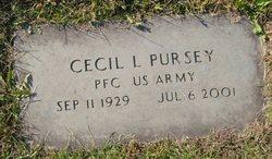 "Cecil L. ""Zeke"" Pursey"