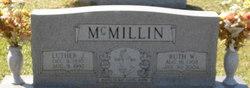"""Ruth """"Fannie"""" <I>Wright</I> McMillin"""