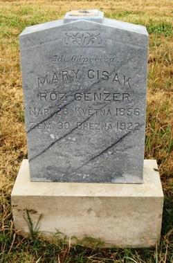 Mary <I>Genzer</I> Cisak