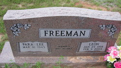 Leon Freeman