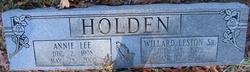 Willard Leston Holden