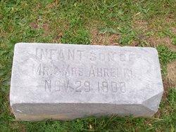 Infant Son Ahrenkiel