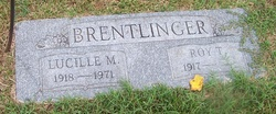 Lucille Marie <I>Leclere</I> Brentlinger