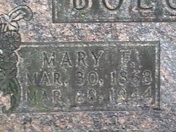 Mary Frances <I>Melchi</I> Boegert