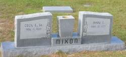 Mary Emma <I>Wildes</I> Mixon