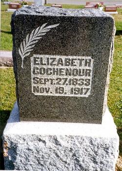 Elizabeth <I>Hufford</I> Gochenour