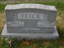 "Anna A ""Annie"" <I>Carney</I> Flick"