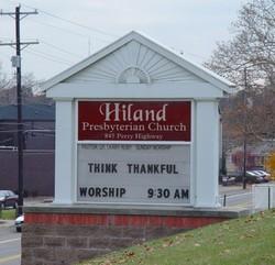 Hiland Presbyterian Church Cemetery