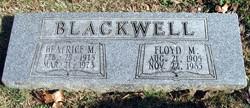 Beatrice M Blackwell
