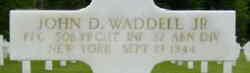 PFC John D Waddell, Jr