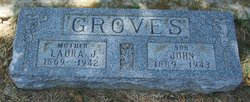 Laura <I>Johnston</I> Groves