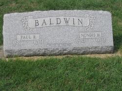 Paul Revere Baldwin