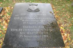 Barbara <I>Wadsworth</I> Bethmann-Hollweg