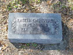 Easter Sue <I>Creasy</I> Shivers