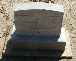 "Olive May ""Ollie"" <I>Gray</I> Anderson"