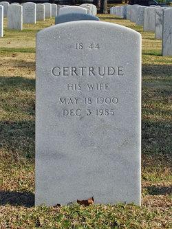 Gertrude May <I>Martin</I> Gaskins