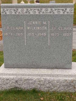 Jennie M Wilkinson