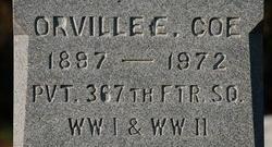 Orville E Coe