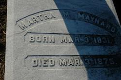 Martha Melinda <I>Dewberry</I> Maynard