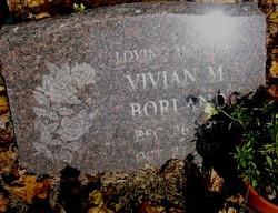 Vivian M <I>Reed</I> Borland