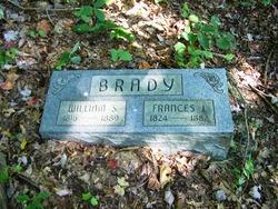 Frances Jane <I>Lemmons</I> Brady