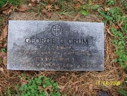 George Gilbert Crum