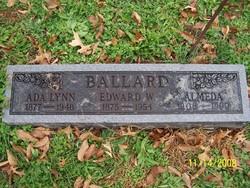 """Willey Edward """"Ed"""" Ballard"""