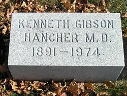 Dr Kenneth Gibson Hancher