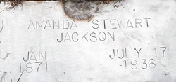 """Amanda Catherine """"Mandy"""" <I>McCarty</I> Jackson"""