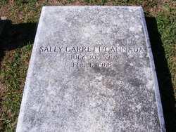 Sally <I>Garrett</I> Cannada
