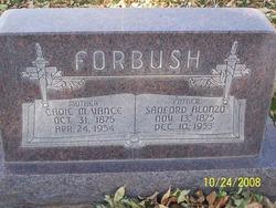 Cadie Maria <I>Vance</I> Forbush