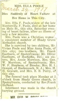 Ella <I>Eastburn</I> Poole