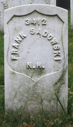 PVT Frank Sadowski