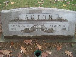 """Amanda Ellen """"Mandy"""" <I>Carter</I> Acton"""
