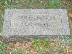 Emma Galena <I>Barnes</I> Eachus