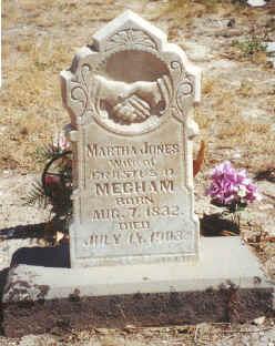 Martha <I>Jones</I> Mecham