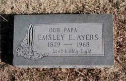 Emsley Elcaney Ayers, Sr